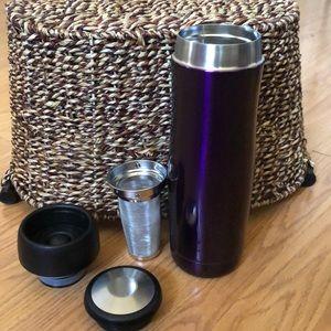 Starbucks Teavana purple Tea Tumbler